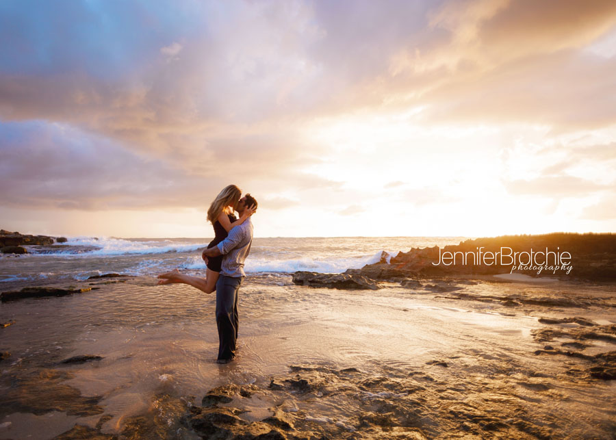An Amazing Engagement Session Near The Marriott Ihilani Sneak Peek