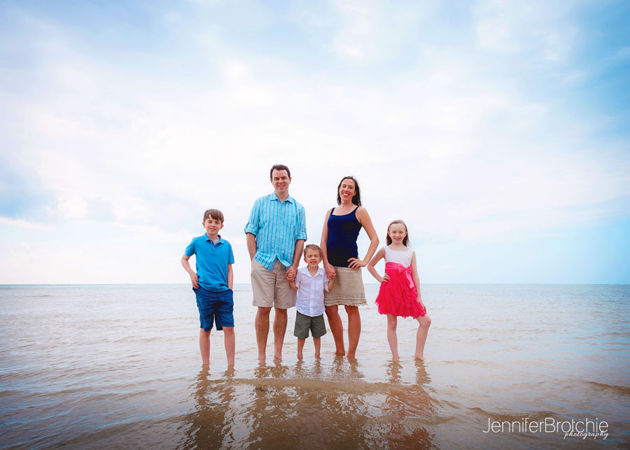 Family Photoshoot At Beach