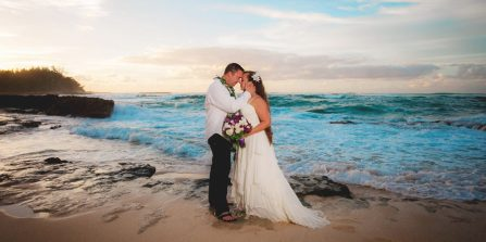 Oahu Elopement Photographer, Beach Weddings on Oahu, Oahu Wedding Photographer, Elopement Photographer in Oahu, Best Affordable Wedding Photographer