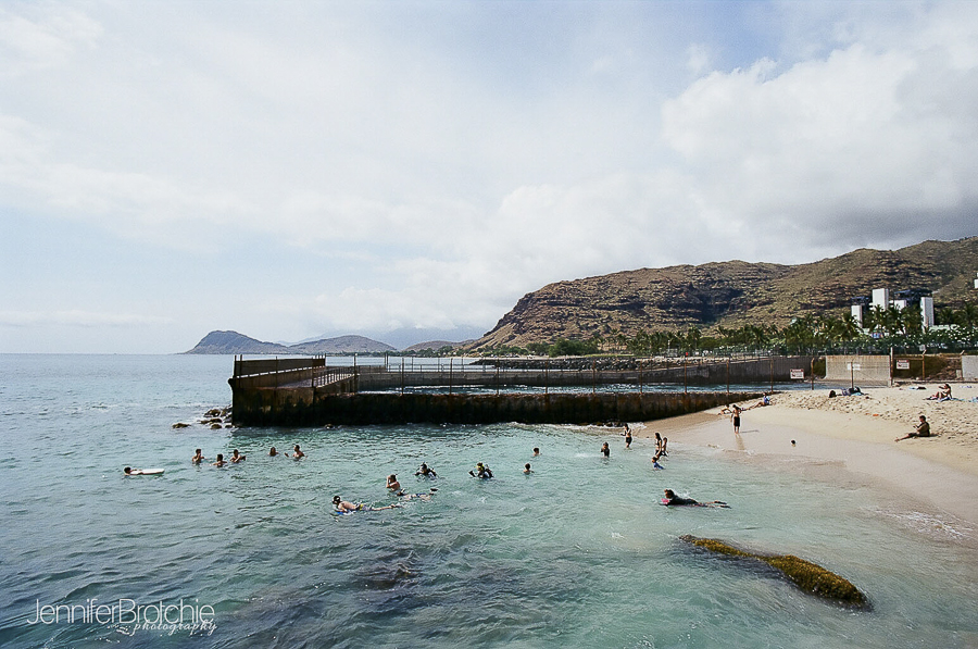 Oahu Snorkeling At Electric Beach