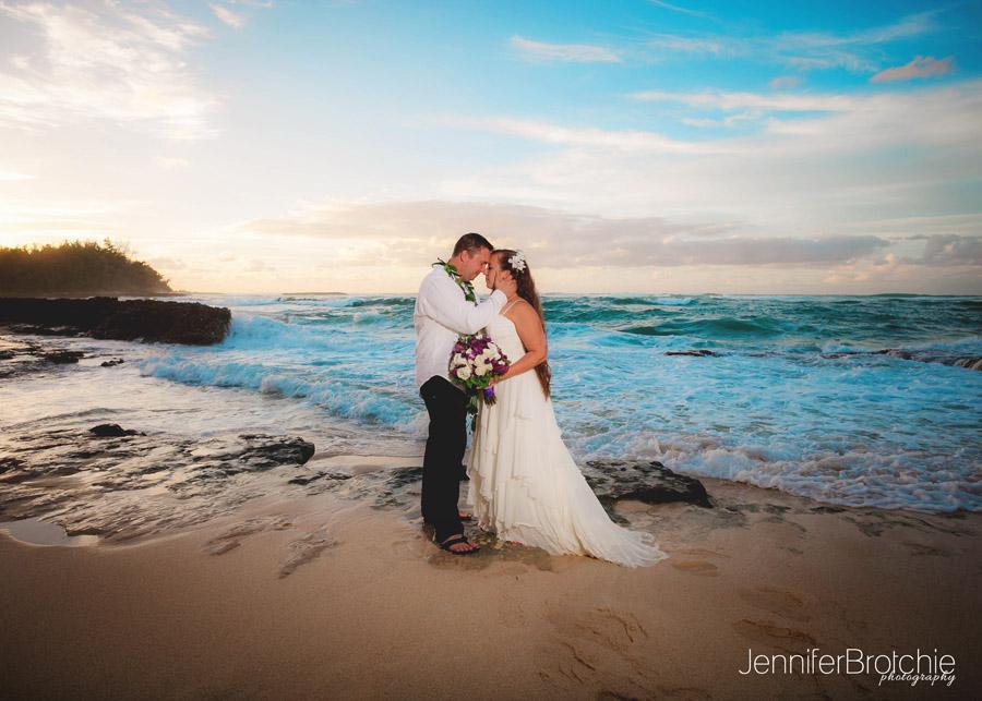 Oahu Elopement Photographer Beach Weddings On Wedding In